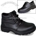 Split Leather Upper Safety Shoes