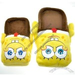Sponge Bob Plush Slippers