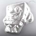 SpongeBob Aluminum Cake Mould