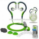 Sport Line Stereo Clip-on Earphones