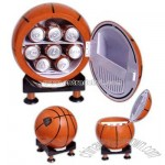 Sport design mini refrigerator and warmer with multi-angle base
