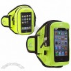 Sports Armband for Mobile Phone, Medium Strap length, Bright Yellow
