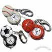 Sports Ball Keychain Clock - basketball/football/baseball