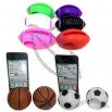 Sports Ball Shape Popular iPhone Speaker Horn - Soccer Basketball Rugby