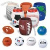 Sports Ball Stress Reliever Can Holder - Golf / Soccer / Football / Tennis / Earth / Basketball / Baseball