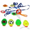 Sports Ball Tambourine & Whistle