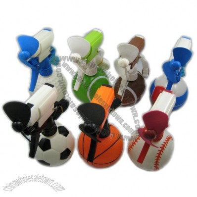 Sports Balls Water Spray Fan