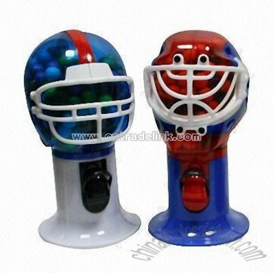Sports Helmet Candy Dispensers
