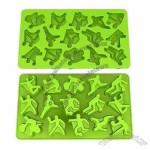 Sports Man Silicone Ice Cube Tray