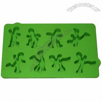 Sports Man Silicone ice Tray