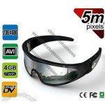 Sports Video Glasses 5MP with Recorder Memory