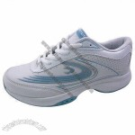 Sports shoes with PU upper/TPR outsole, classical design, flexible and comfortable to wear