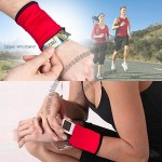 Sporty Zipper Wristbands