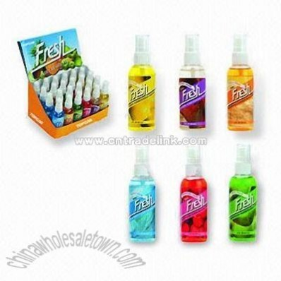 Spray Air Fresheners with Capacity of 75mL