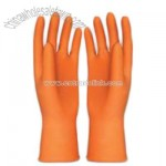 Sprayed Flocklined Latex Glove