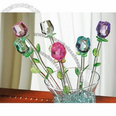 Spring Bouquet Glass Flowers