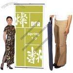 Spring back Banner Stand Display Spring 1-3 Graphic Stand 36w x 78h