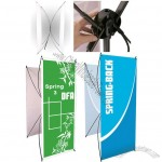 Springback Banner Stand Spring 3 Double Sided 27w x 71h