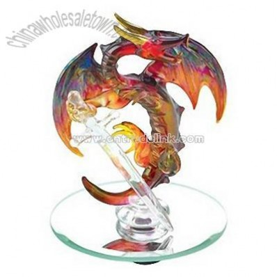 Spun-Glass Bronze Dragon