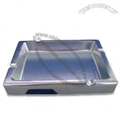 Square Aluminum Ashtray