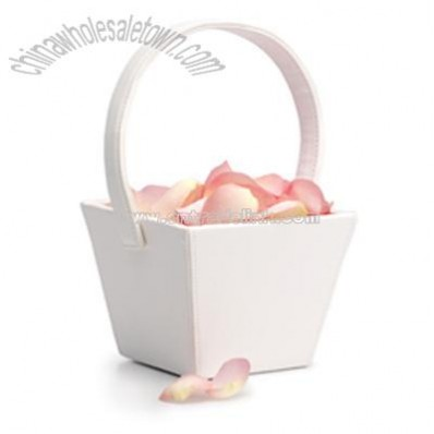 Square Flower Girl Basket