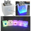 Square LED Ice Bucket, Wine Ice Cooler