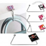 Square Purse Hanger with Balleen and Crystal Options