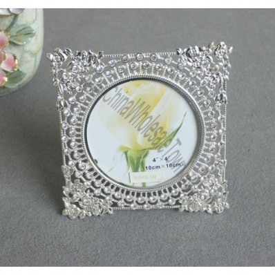 Square Rhinestone Beaded Photo Frame