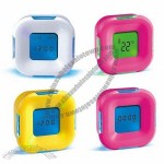 Square Rotary Coutdown Alarm Clock