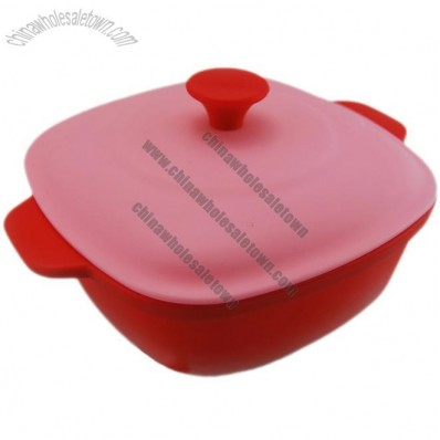 Square Shaped Silicone Steamer Cooker, Rice Cooker, Fish Cooker