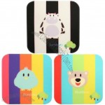 Square Silicone Coasters with Fullcolor Printed