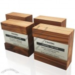 Square Wooden Award