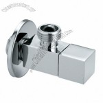 Square brass angle valve for basin mixer kitchen mixer toilet & geyser