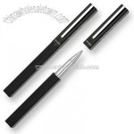 Square cap-off rollerball pen