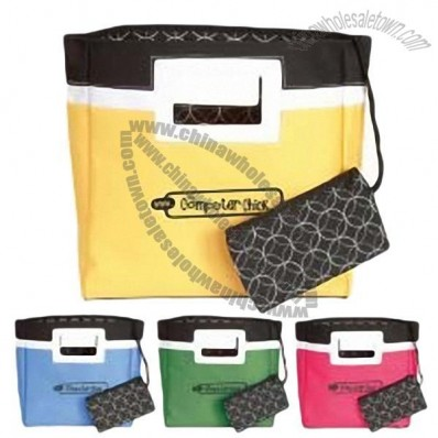 Squared Away Mini Tote Party Favor