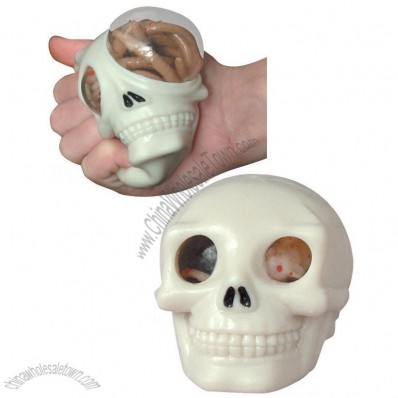 Squeeze Horror Ball - Skull
