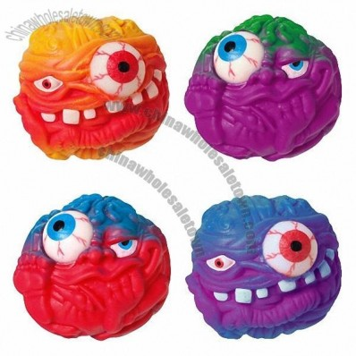 Squeeze Monster Ball Eyes Pop Out Toy