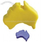 Squeezy Aussie Map Stress Ball