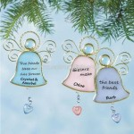 Stained-Glass Angel Ornaments
