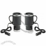 Stainless Steal 12V Heating Mugs
