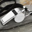 Stainless Steel #1 Coach Personalized Whistle