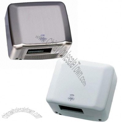 Stainless Steel Automatic Hand Dryer with Stainless Steel Cover