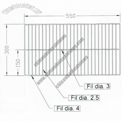 Stainless Steel BBQ Wire Net, Wire Mesh