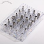 Stainless Steel Cake Decorating Pastry Tips Set