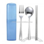 Stainless Steel Chopsticks Set