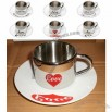 Stainless Steel Coffee Cup/Mug Gift Set