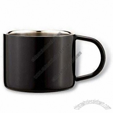 Stainless Steel Coffee Cup/Mug with 80mL Capacity