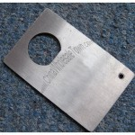 Stainless Steel Credit Card Bottle Opener