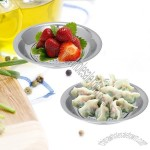 Stainless Steel Draining Food Fruit Tray
