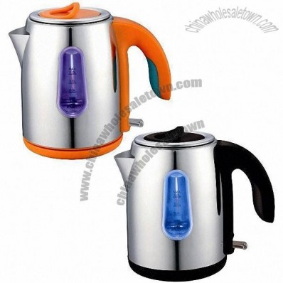 Stainless Steel Electric Kettle, 1.5L Capacity